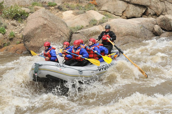 Full-Day Arkansas River Rafting Through Browns Canyon, Buena Vista, CO, ESTADOS UNIDOS