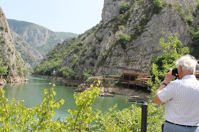 You enjoy being in nature, you want to know and see more than the usual, you want an experience beyond what every tourist does in Skopje, then go for Skopje's surrounding beauties and visit Millenium Cross and Canyon Matka !<br>During this half-day spent in nature you will feel as been somewhere far from the city but not a dozen kilometres away from it! Our experienced guide, with a cable-car system, will take you up to the Millennium Cross on the top of Mount Vodno, for a spectacular panoramic view on Skopje, the tour will also take you to the nearby village of Gorno Nerezi, at St. Pantelejmon church, to witness the frescoes that are among the highest achievements in existing Byzantine art, and last but not least – the canyon Matka, one of the most popular outdoors destinations in the surrounding of Skopje, authentic nature, presented by the many endemic species of plants, animals and butterflies.