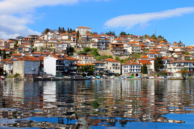 This private full-day trip to the pearl on Macedonian crown, Ohrid, is a must do once you are in Macedonia. In only just about two and a half hours drive from Skopje, grab the chance to visit the town and lake of Ohrid, both preserved by UNESCO as places of environmental, historical and cultural significance. Get to see the many churches and archeological sites, witness some of the most beautiful and well preserved Byzantine frescoes and icons, relax and have some tasty bites in one of the charming local restaurants and cafes by the crystal clear waters of Ohrid lake.
