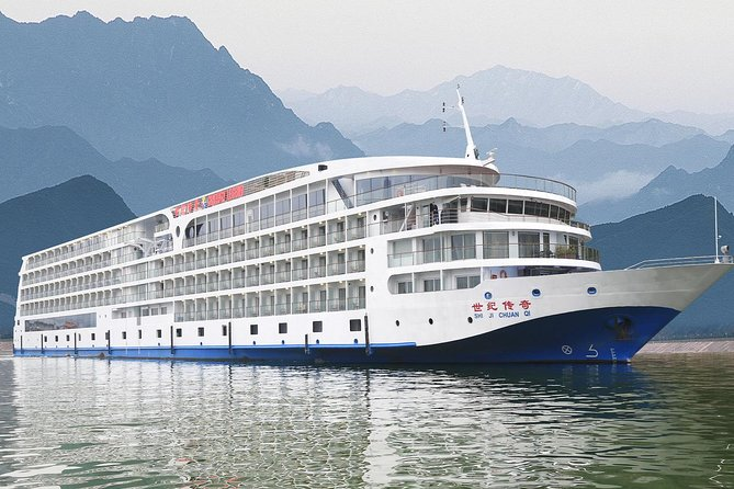 Century Legend, one of the newest 5 stars cruise on the Yangtze River, offering the best facilities, delicious food, excursions and cruising experience. The Century Legend is charting a new course for Yangtze River cruising. The ship features a state-of-the-art propulsion system that reduces vibration and decreases emissions to reduce environmental impact. Other innovations include a pillar less multi-function lounge with unobstructed views of evening entertainment, and a large indoor swimming pool.