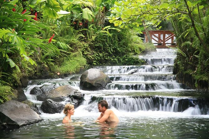 Arenal Volcano Day Tour and Tabacón Hot Springs From Guanacaste, ,