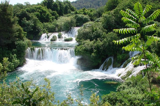 Spend a day on your visit to Croatia exploring spellbinding Krka National Park. Walk along the wooden paths through the park's stunning scenery, hear the singing of rare birds, and see water mills that have been in action for centuries.<br><br>See the magnificent Skradinski buk, the biggest waterfall in the park, and one of the most beautiful cliff waterfall in Europe. Enjoy some free time for swimming and paddling under smaller falls and for lunch. Visit the historic towns of Šibenik and Primošten.