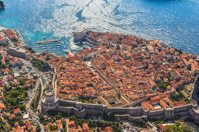 Explore the walled city of Dubrovnik on a 12-hour tour from Split, and admire views of the Dalmatian Coast along the way. Take in views of the ramparts from the Stradun promenade, and then wander the marble labyrinth of streets contained within the walls.