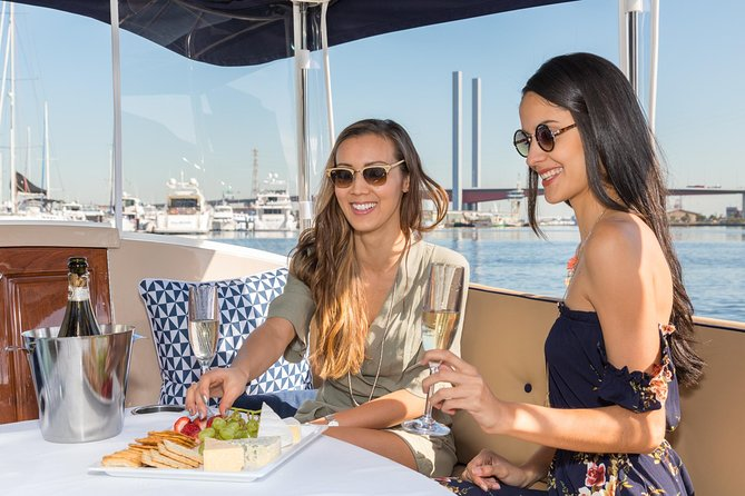 Experience the beauty of Melbourne and spoil yourself with your a private luxury cruise chartered by your own private skipper. Departing from Docklands, this private cruise will sail past Melbourne's main riverside attractions, while you enjoy a bottle of wine and a selection of delicious local cheeses.