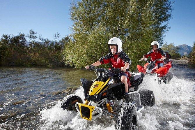 Hanmer Springs Jetboat Quad Bike and Bungy Jump combo, Hanmer Springs, NUEVA ZELANDIA