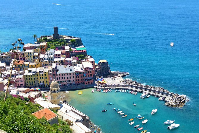 Head to the coast for a day in Italy's Cinque Terre on a private (this is not a shared tour) 10-hour trip from Florence. Listed as a UNESCO site, the region is made up of five charming fishing villages that cling to the cliffs. Visit Manarola, Vernazza, and Corniglia, and travel between them by boat or train. In each village, you'll have time to wander the streets, browse local shops, eat, and soak up the sea views. The tour itinerary is designed to achieve the most from you day and as much as possible we are ready to customize it to meet your expectations. If you want to visit Pisa on the same trip, upgrade when you book.