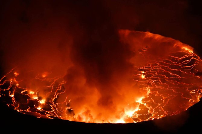 Few volcanoes are as spectacular as Mount Nyiragongo. Known for its active lava lake and (relatively) frequent eruptions, this incredible volcano has the potential for widespread disaster.<br><br>Nyiragongo Volcanic mountain is located in the Western part of Virunga National Park and is ranked to be among the most active volcanoes and is open to tourists that wish to visit for Hiking Adventure.<br>