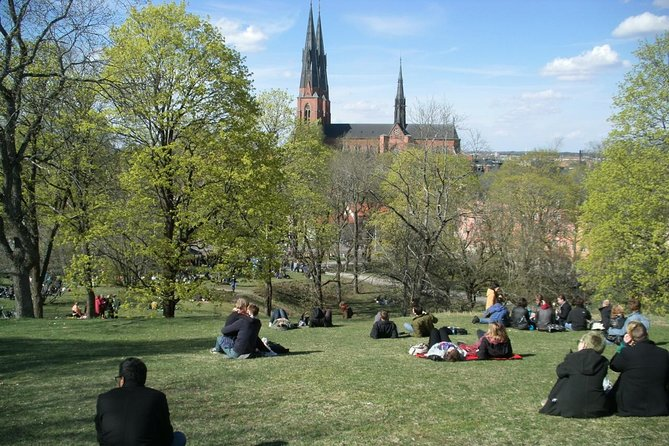A guided walk in Uppsala - a city of learning. In a pleasant mix of old and new this tour will take you to some of the main sights in central Uppsala - the cathedral, the castle and the university. The guide will also tell you about modern life in Uppsala with a unique focus on ecofriendliness, gender equality and city development. This tour will make you feel at home in a charming city a short train ride from Stockholm. (3 hour private tour)