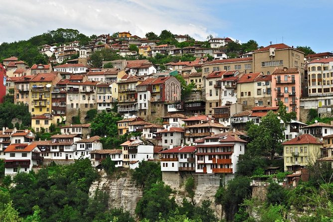 This private day-trip to Bulgaria will take you to see the best of Bulgaria in one day. Leave in the morning to the Romanian-Bulgarian border you will arrive at the Ivanovo Rock Churches, a unique UNESCO World Heritage Site with perfectly preserved frescoes. Next stop will be done in Veliko Turnovo, the capital of the second Bulgarian Empire where you can tour inside the Tsarevets fortress from the 12th century. Step back in time on the Samovodene Artisans Street packed with workshops of locals where you can find a coppersmith, silversmith, icon painter and many more. Drive up to Arbanassi Village, an architectural reserve unique in Bulgaria. Visit the interior of Konstantilieva House, a merchants house from the 17th century. Before leaving Bulgaria take an exclusive visit to the town of Ruse with a short stroll in the central area.