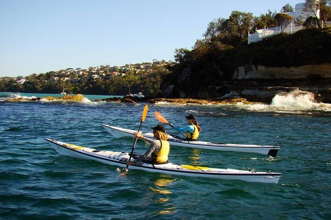 3 Hour Self-Guided Kayaking Tour:<br><br>Paddling a single sea kayak is a fun and unique way to explore Sydney's Middle Harbour. Choose your own adventure, paddle to some of Sydney's most pristine beaches, get a glimpse out the heads to the Pacific Ocean, or glide past the lush bushland of the Garigal National Park while looking for wildlife in their natural environment. <br><br>The Single kayaks that we provide are very easy to paddle, smooth through the water and moderately stable. <br><br>The deluxe single kayaks are made of lightweight materials like Kevlar, or carbon fiber. Less weight means less resistance through the water, making them easier to paddle. They are all Australian made and well maintained.