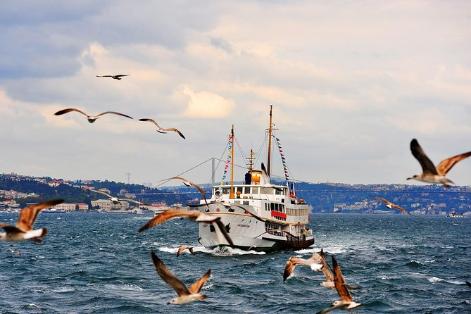 Afternoon Bosphorus Tour including Cruise, Golden Horn Coach Tour and Cable Car Ride, Estambul, TURQUIA