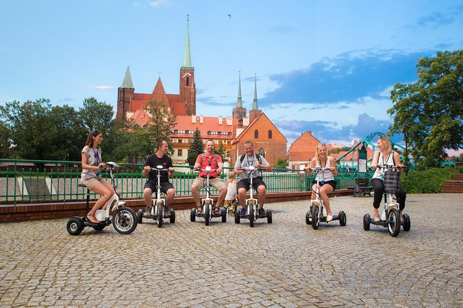 MORE PHOTOS, The Grand E-Scooter (3 wheeler) Tour of Wroclaw - everyday tour at 9:30 am