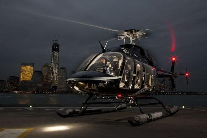 See New York City's amazing skyline lit up in a perspective normally reserved for private charters! You'll fly in a 6 passenger Bell helicopter or 7 passenger high visibility Airbus helicopter for this unique experience. This adventure is a shared experience with other travelers.