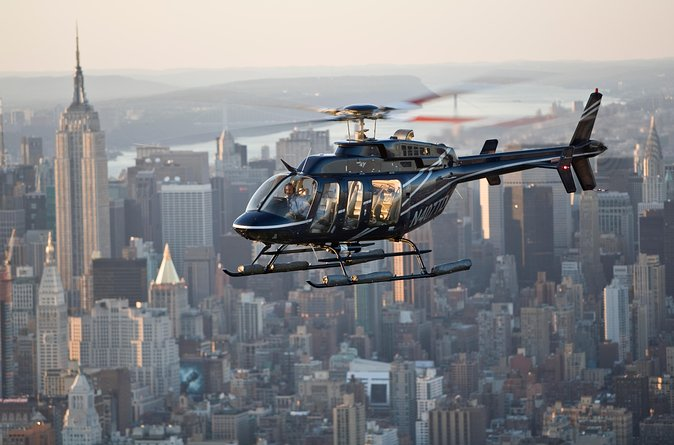 On this thrilling daytime helicopter tour you will view New York City's stunning skyline. In a small-group, enjoy a unique perspective of the Big Apple from the sky. Bring your camera - you'll capture extraordinary photos of the city that will be the envy of all your friends. This adventure is a shared experience with other travelers.