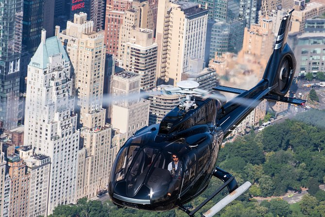 See New York City from all angles in your own private helicopter! Choose from an afternoon or night flight and see New York City from a fantastic aerial perspective.