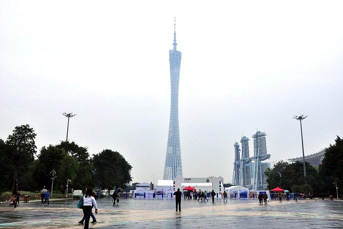Recorrido en autobús de 4 horas durante la escala en Guangzhou, Canton, CHINA