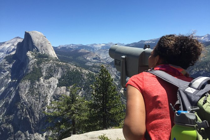 Departing Fresno or Oakhurst, this9-hour tour of Yosemite National Park covers some of the Yosemite Valley's natural highlights. Capture photos ofBridalveil Falls,Half Dome, Yosemite Falls and Yosemite's high country, and hike down the 4-Mile Trail between spring and fall. Lunch, entrance fees, and hotel pickup and drop-off are included.