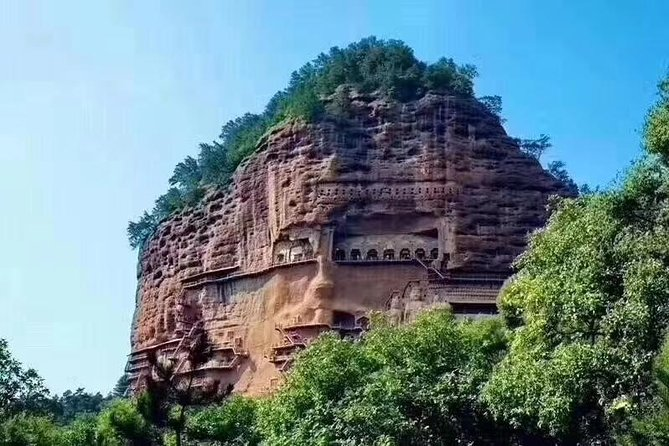 """Tianshui city has 2,700 year of history with a civilization stretching back to 8,000 years ago. As the origin of Chinese civilization, Tianshui precipitates the essence of development of human.<br><br>Maiji Mountain looks like a """"wheat stack"""", there are morn than 7,200 stone carvings and clay sculptures preserved very well, also called """"Museum of the Oriental Sculpture """"<br><br>TheFuxi Temple :Tianshui is the hometown of Fuxi, who, the ancestor of the Chinese nation was born here, legend has Fuxi created language, Eight Trigrams and taught people etiquette for the development of civilization of human"""