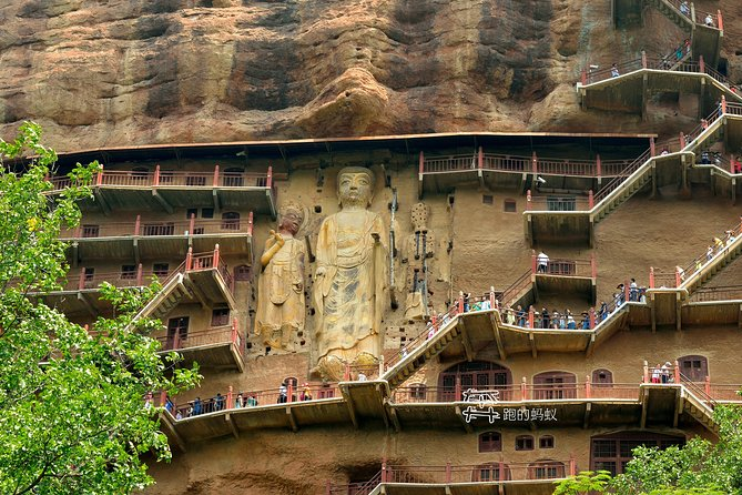 """See the top highlights of Tianshui during a memorable 4 days private tour.<br><br>Tianshui is one of the important birthplace of the Chinese nation, it is a Chinese historical and cultural city, Maiji Mountain Grottoes is one of the most famous Buddhism Grottoes in China. It is called """"the Museum of the Oriental Sculpture """".<br><br>Tianshui is the hometown of Fuxi, who, the ancestor of the Chinese nation was born here, legend has Fuxi created language, Eight Trigrams and taught people etiquette for the development of civilization of humankind.<br><br>Dadiwan site will take us back to 8,000 years ago of China.<br><br>Nanguo Temple is famous for a 2,500 years old cypress being water continuously by an ever-bubbling fountain."""