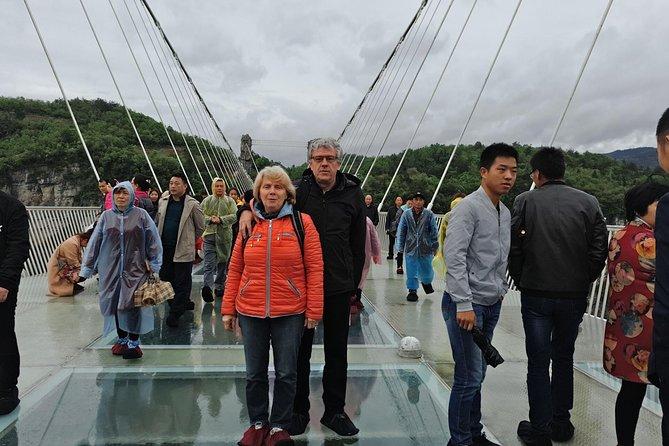 MÁS FOTOS, Zhangjiajie Grand Canyon with Glass Bridge and Baofeng Lake Private Day Tour