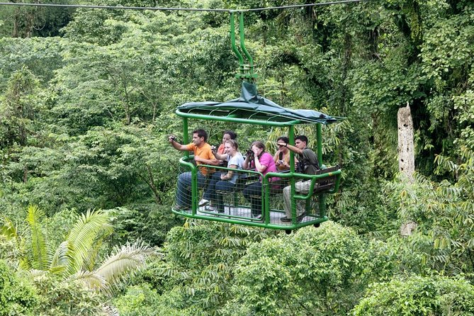 Rainforest Adventures Aerial Tram Tour Braulio Carrillo, San Jose, COSTA RICA