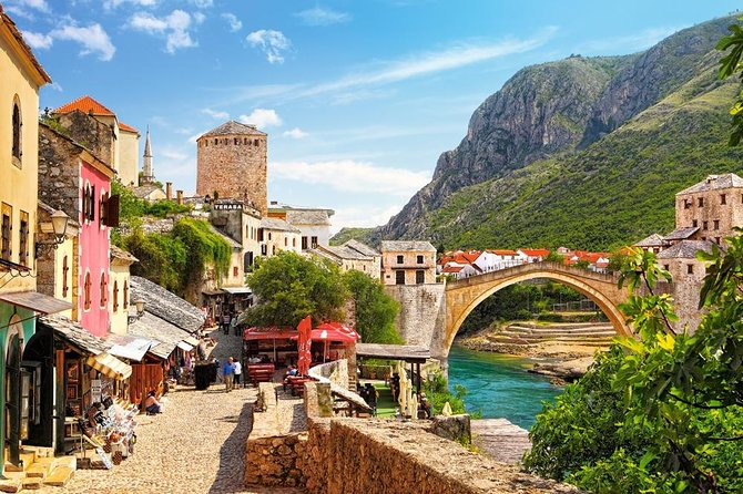 "Walking tour of Mostar is the perfect combination of city sightseeing with new knowledge about our complicated history, culture, customs, tradition and war that happened in 90's. Enjoy in 2 hours guided tour and find out  the real story about city's nicknames ""Where East Meet West"", ""City Of Sun"", ""Divided City"", ""City-Case""..."
