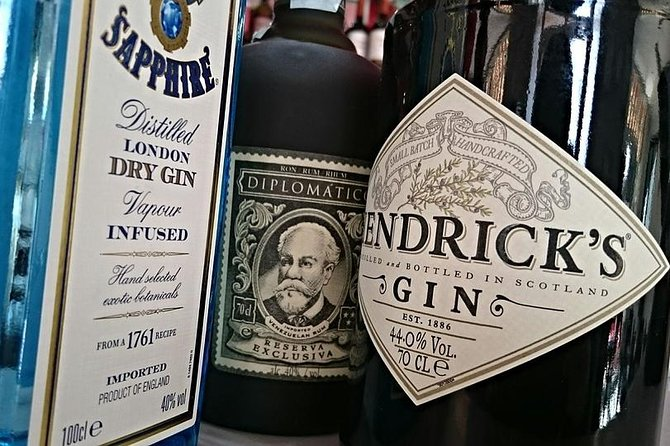 Private 3-Hour Gin Tasting in Idstein, Frankfurt, GERMANY