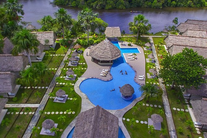 This 3 day & 2 night Iquitos Peru luxuryrainforest tour is geared for people who are really interested in seeing culture along with wildlife but also want the comfort of a luxuryjungle lodge in Iquitos. This expedition is jam packed with a variety of themost popular activities & attractions of this region of the amazonincluding: freshwater dolphin spotting, canoe rides, night time caiman excursion, piranha fishing and more! A great option for anybody who doesn't have much time but is looking for a LuxuryIquitos jungle tour.