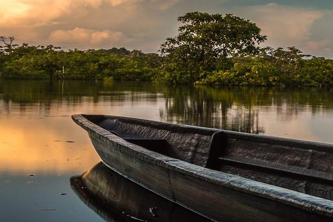 """During this 4 Day & 3 Night Iquitos, Peru rainforest tour our Iquitos jungle guides will take the traveler deep into the largest, most diverse natural areas in the world. This tour includes 1 night of camping in the jungle at """"Mirador Palo Alto"""", a 3 story observation tower that provides a birdseye view of the lowland jungle. This rainforest expedition also includes some of our most popular activities including: night time caiman excursion, bird watching excursion, piranha fishing, rainforest hiking, visit with native Amazonian tribes, canoe rides, viewing of pink river dolphins and much more!"""