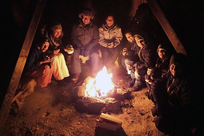 Snowshoe trip with a campfire in Tromso, Tromso, NORUEGA
