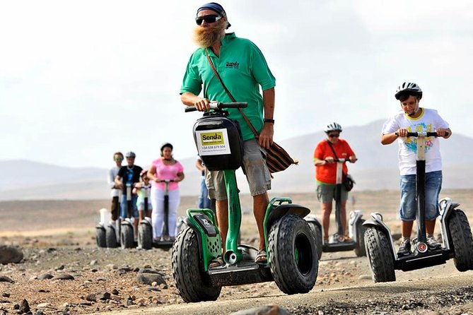 Have fun with this segway tour from Playa de Jandía to Morro Jable. You will go through the dunes and enjoy the wonderful panoramic view from the cliff in Morro Jable. You will be picked at your hotel and taught how to ride this vehicle for two hours while you fall in love with fantastic views.