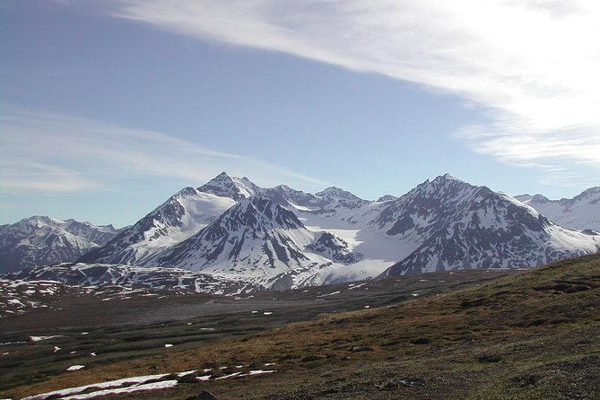 Travel along the Haines National Scenic Byway through the world-famous Chilkat Bald Eagle Preserve and into Northern British Columbia. Look for wildlife and enjoy the amazing scenery along the ride and during photo stops as you venture through the expanses of alpine tundra.