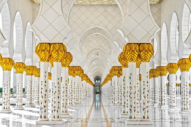 How about we travel to the magnificent beauty of Abu Dhabi and get immersed in the stunning destinations in this half-day city tour? Check out the aesthetic essence of Sheikh Zayed Grand Mosque, relaxing scenery of Abu Dhabi Corniche, the opulent charm of Emirates Palace, Etihad Towers and many more.<br><br>Highlights<br><br>Visit the nation's largest mosque, the 'Sheikh Zayed Mosque'<br><br>Stroll around the scenic beauty of Abu Dhabi Corniche <br><br>Appreciate the wonder appealing Emirates Palace and Etihad Towers<br><br>Drench in the artistic and Arabian heritage of Qasr Al Watan Palace