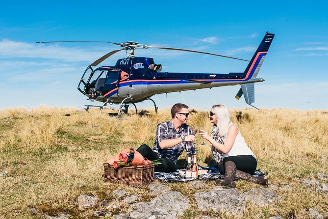 Treat a loved one to a special once in a lifetime experience they will never forget with this romantic private helicopter ride from Wellington City. Enjoy stunning views of coastlines and farms. Land for some quality time with your loved one with a complimentary bubbly in hand.