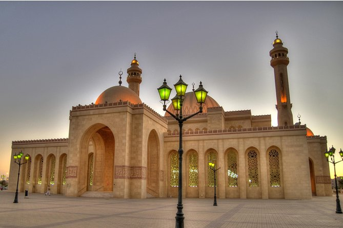 This tour is all about history of Bahrain. The tour will start at 9am and last around 4 hours. It will cover The Grand Mosque, Bait Al Quran, Bahrain National Museum, a photo stop by the Bahrain World Trade Center (Twin Tower) and King Fahad Causeway. Hotel pick up and drop off included.