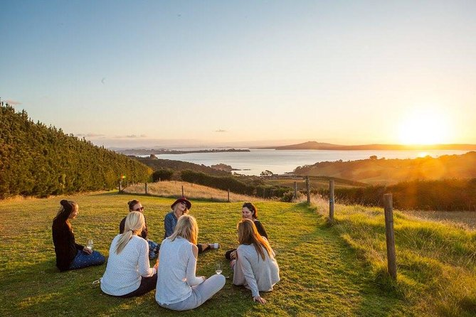Lose yourself in the vines on this small personalised group tour around Waiheke Island. You will be able to take in the tastes, sights and sounds that have taken the local wine makers decades to perfect.This tour celebrates the islands local charm and we'll take you off the beaten track to experience the magic Waiheke has to offer. We've sampled it all and only bring you to the places we've fallen in love with. All the hard work is done for you.Your tour starts with a pick up from anywhere on Waiheke Island and includes wine tastings at 3 boutique vineyards (excludes lunch & ferry tickets).