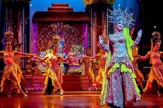 The Alcazar Cabaret Show is one of the most indulging Cabaret show in Pattaya that you can't miss during your stay in Pattaya. Get amused by glamorous drag queens at a modern theater with state of the art lighting, sound system and amazing dance performance. Please choose from the options available for your preferred show time, seating, and if you need hotel pickup and drop-off. Be ready to be blown away by this 70-minute world class entertainment.