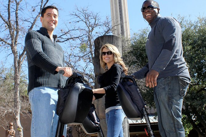 San Antonio Sightseeing Segway Tour – Segway Nation offers its 1.5 hour San Antonio Sightseeing Segway Tour three times daily. This 1.5 hour San Antonio Segway tour allows guest to explore the historic and Spanish influenced core of downtown San Antonio, while it focuses a bit more on experiencing riding on a Segway and a bit less historic facts. Some of this Segway tours highlights include the world famous Alamo • Tower of the Americas • HemisFair Park • Henry B Gonzales Convention Center • Alamodome • San Fernando Cathedral • Plenty of time to play on your Segway, lots of fun facts and time for great photos.