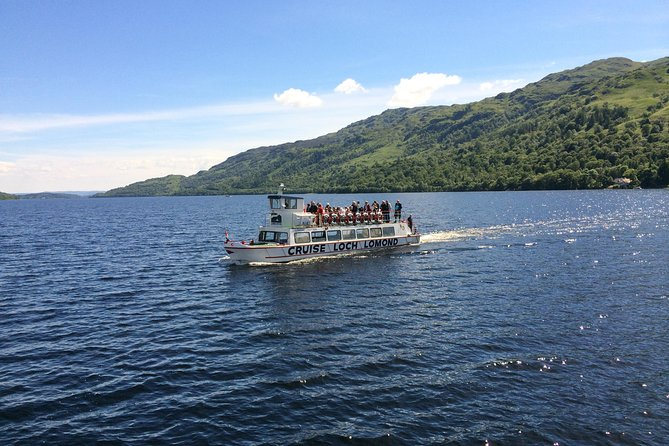 Discover the northern end of fjord-like Loch Lomond and sail over the deepest part of the Loch in the shadow of Ben Lomond on this one hour circular cruise.