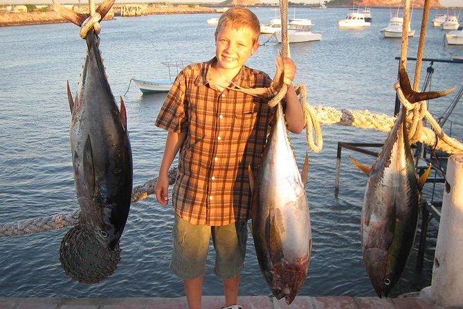 Pesca en alta mar - barco compartido, Mazatlan, MEXICO