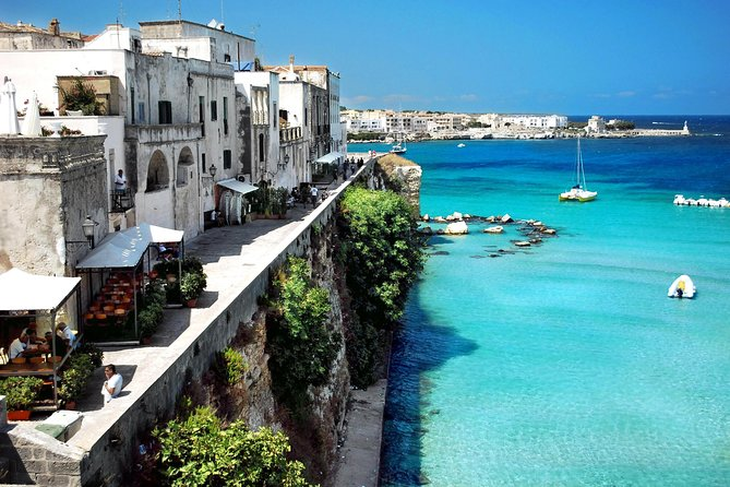 This tour will give you the opportunity to visit the four most significant towns in Salento: Galatina, Otranto, Santa Maria di Leuca and Gallipoli.