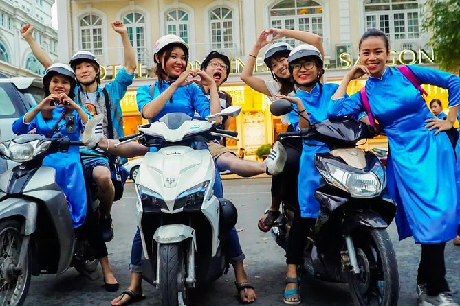 GirlPower Saigon By Night Tour by Scooters with Female Drivers | Kiss Tours, Ho Chi Minh, VIETNAM