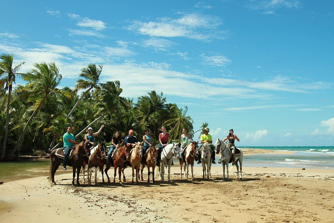 Luquillo Beach Horse Ride from Carabalí Rainforest Adventure Park, San Juan, PUERTO RICO