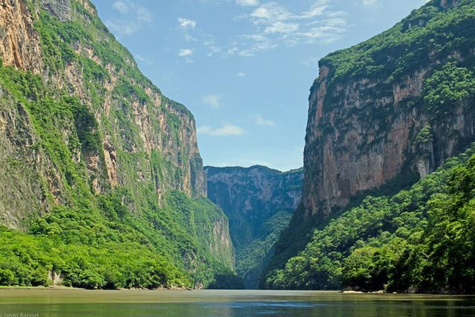 Head out from San Cristobal de las Casas on an excursion to Sumidero Canyon. Visit Chiapa de Corzo as well, Explore this wonderful city on foot.