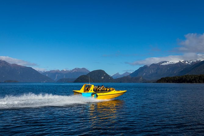 This is a rare opportunity to immerse yourself in Fiordland National Park - far from the crowds found elsewhere. Fiordland Jet is is the only scenic commercial operator on these waterways, which means guests can enjoy an authentic kiwi experience in a small, personalized group tour.<br><br>As a locally owned and operated business, we are taking tourism back to what it use to be - personal - and invite you to explore our beautiful home as one of the family. No rushing. No lines. Just wide open spaces and jaw dropping scenery. <br><br>This is not the typical jet boat 'ride' - this is a journey - time to explore and learn about this amazing area and its rich history all while having heaps of FUN!