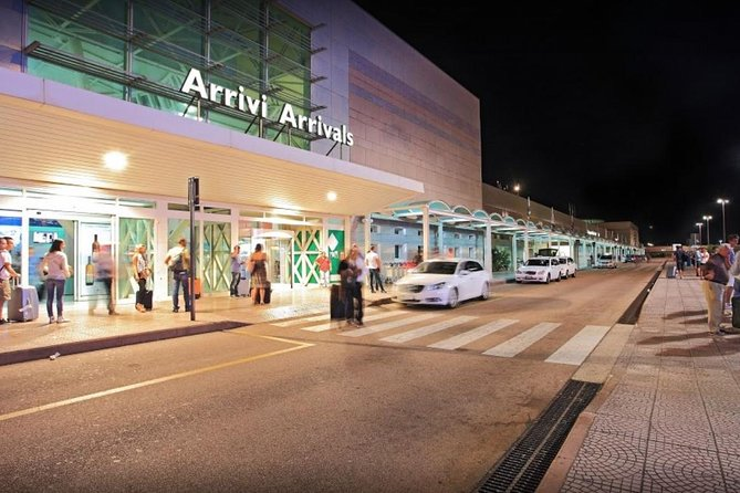 The driver will wait for you at Arrivals hall in Olbia airport