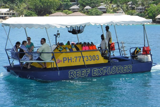 1.5-hour Glass Bottom Semi-Sub Port Vila Snorkel Tour, Port Vila, VANUATU