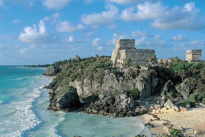 Join this small-group full-day tour to Coba, Cenote Choj Ha, Tulum and Paradise Beach. Visit the Yucatan jungle and Coba, swim in the spectacular waters of Cenote Choj ha, see the archaeological site of Tulum, and relax in Paradise beach while admiring the ruins of Tulum from the sea. There is a maximum group size of 15 for this tour.
