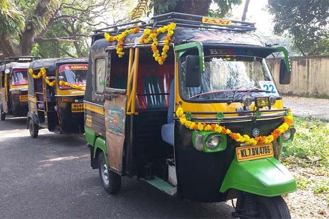 Experience your private Tuk-Tuk tour in Kochi with a trusted people, with quaranteed pick up from the cruise ship and timely Drop off to the cruise terminal. Explore the historical monuments and learn more about Kochi's rich history from your Driver/Local Expert. Kochi was a fishing village in the Kingdom of Kochi in the pre-colonial Kerala. Kochi was the center of the Indian spice trade for many centuries. Because of its rich spice history, Kochi was a major attraction for foreign traders. <br><br>During this tour, you will travel in tuk tuk (auto rickshaw) to explore Kochi's most important landmarks like Chinese fishing nets , St Francis church, the Dutch Palace, Jewish synagogue, the Jain temple and more. And also some local places like Dhobhi Khana(Local Washing area), Ginger ware house(packing/drying of spices), and womens cooperatives spice markets, (spice making/ candle making, inscents making etc) to experience the life of local people. <br><br>This tour includes monument entrance fees.