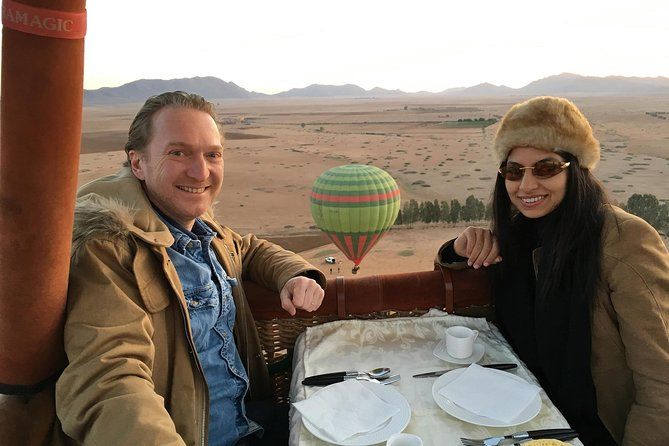 Exceptional Private ROYAL Hot Air Balloon Flight with Seated Air Breakfast, Marrakech, cidade de Marrocos, MARROCOS